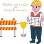 Rachat de crédit immobilier avec trésorerie pour les travaux de terrassement