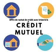 L'offre de rachat de crédit avec trésorerie Crédit Mutuel
